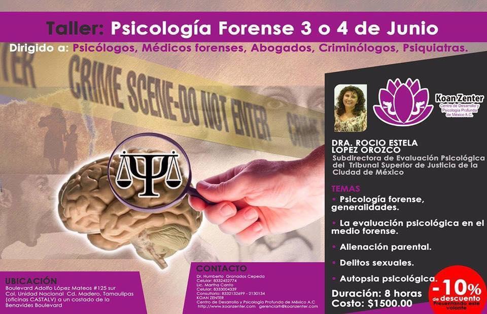 taller criminologia